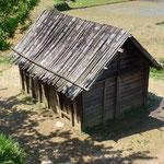 Une maison du village où j'ai dormi