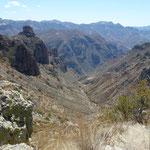 Canyon Barranca Del Cobre, au nord du Mexique
