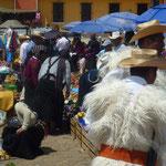 Le marché de Chamula le dimanche matin
