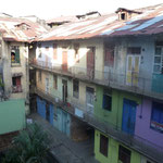 Habitations vue de l'hôtel à Panama