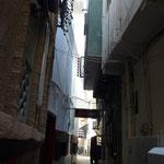 Ruelle de Muscat dans la partie vieille ville