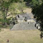 Sur le site Maya á Copan Ruinas