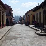 Une rue de San Cristobal de Las Casas