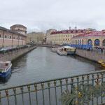 St Petersburg - les canaux