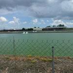 Lagunes autour des élevages
