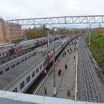 La gare de Petrozavodsk