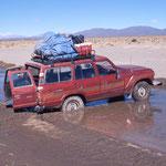 Jeep enlisée (situation courante)