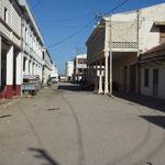 Une rue de Majunga sur la côte Ouest