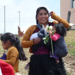 Une femme indienne au mariage