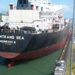 Le prochain canal laissera passer des bateaux avec un tonnage double