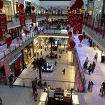 Vue du mall à Dubaï
