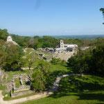 Les ruines de Palenque
