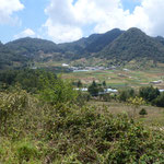 Des paysages magnifiques. Les indiens habitent et cultuvent les montagnes. Ils ont été progressivement repoussés des plaines,