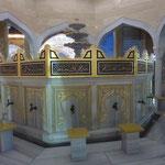 Interieur de la mosque. Libre de visite - dechausse bien sur - et libre de photo