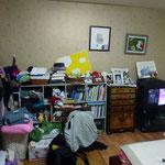 Chambre de la grand mère où j'ai dormi