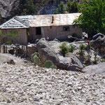 Une maison indienne au fond du canyon