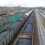 Train de charbon
