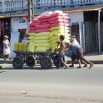 Pas besoin de gros camions pour livrer la marchandise