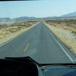 Dans le nord les distances sont longues et le paysage désertique