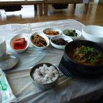 Un repas typique coréen