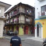 Architecture ancienne à Panama city