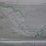Mon itinéraire au Mexique - beaucoup d'heures passées dans les bus