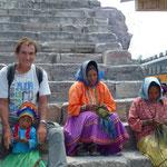 Dans le canyon avec la communauté Indienne