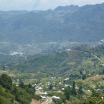 Paysage autour de San Cristobal
