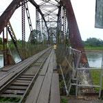 Le pont qui sépare le Panama du Costa Rica