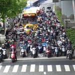 Au feu rouge à Taïpei