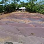 Couleurs naturelles de la roche
