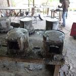 Dans la fabrique de fours de cuisson