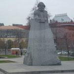 Statue de Napoléon à Moscou