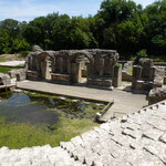 Site archeologique de Butrint, pres de Saranda