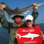 Layne Onstott of Marietta w/ 3ft Atlantic Sharpe Nose shark