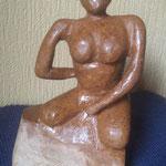 Nr. 2 / 16x8 cm / brauner Speckstein / € 250.-