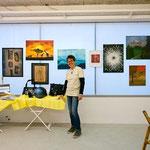 Meine erste Präsentation der Airbrushwerke