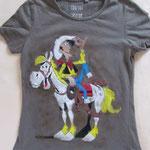 T-Shirt Lucky Luke für meinen Sohn Juni 2015