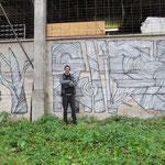 Unser Kunsthaus wurde von Graffiti-Künstlern aus Wien verschönert