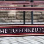 Welcome to Edinburgh Castle - leider nicht für Hunde!