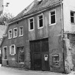 Gebäude um 1960 kurz vor dem Abriss