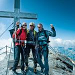 am Gipfel des Kitzsteinhorns