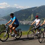 Radfahren rund um den Zeller See