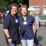 Auch in diesem Jahr ein echtes dream team: Die Organisatoren Frau Lanfer und Frau Stramm.