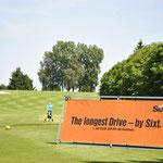 Sixt Werbung auf Golfturnier