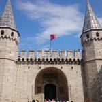 Eingang zum Sultanspalast
