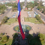 LAO - Vientiane Patuxay Monument