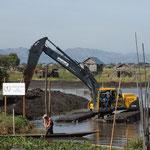 MMR - Inle Lake, muss auch mal ausgebaggert werden
