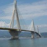Patras Brücke über die Straße von Korinth