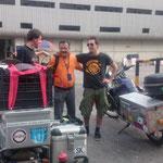 THA - Bangkok, endlich das Motorrad aus dem Zoll holen, mit unserem Agenten